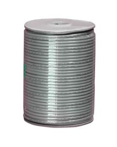 1000ft 26 AWG 4-Conductor Silver Satin Modular Cable Reel