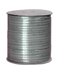 1000ft 28 AWG 8-Conductor Silver Satin Modular Cable Reel